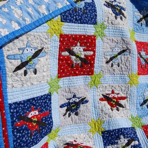 quilt pattern airplane applique plane baby quilt pdf pattern 6 quot block instant