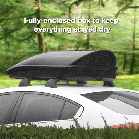 Garage Storage For Car Top Carrier 280l Travel Car Top Roof Box Storage Carrier Luggage Side