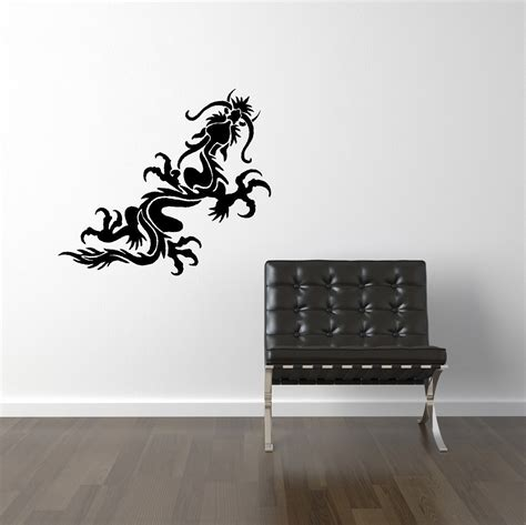 vinyl wall stickers items similar to dragon vinyl wall decal decals wall