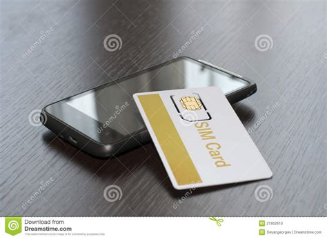 sim card mobile phone sim card and mobile phone stock photo image 21952610