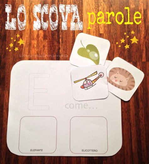 giochi con le lettere per bambini lo scova parole tante schede per giocare con le lettere