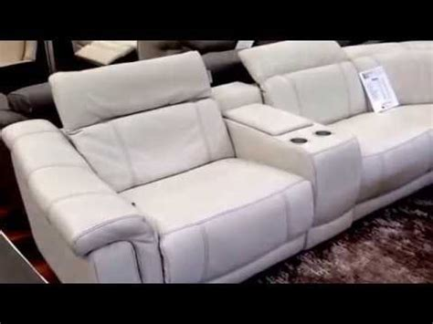 natuzzi editions designer sofa italian leather clearance