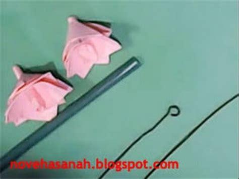 cara membuat bunga kertas yg mudah cara membuat bunga kertas yang mudah youtube
