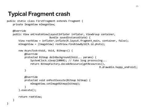 layoutinflater crashing android programming pushing the limits