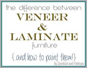 Can You Paint Particle Board Kitchen Cabinets The Difference Between Laminate And Wood Veneer Furniture