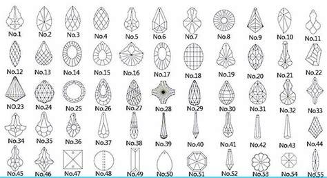 Chandelier Part Names 200pcs Lot 63mm Crystal Multi Cuts Glass Icicle Pendants