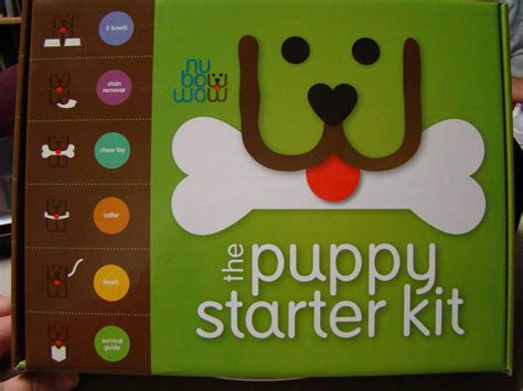 puppy starter kit at the fence nu bowwow puppy starter kit review and giveaway