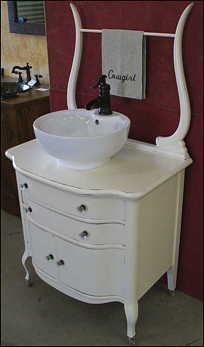 Antique Washstand Dresser by Vessel Sink Amara This Reminds Me Of You Beautiful