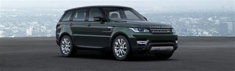 dark green range rover range rover sport colours guide carwow