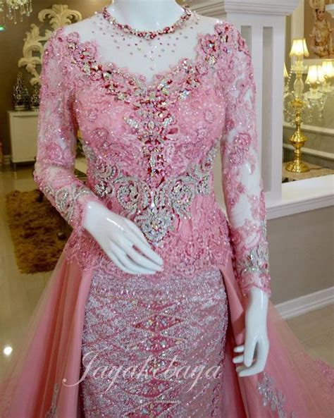 Broklat Kebaya Db 5046 wedding dress kebaya modern pink 2016 inspo inspiration