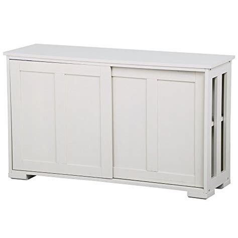white storage cabinet with sliding doors go2buy antique white stackable sideboard buffet storage