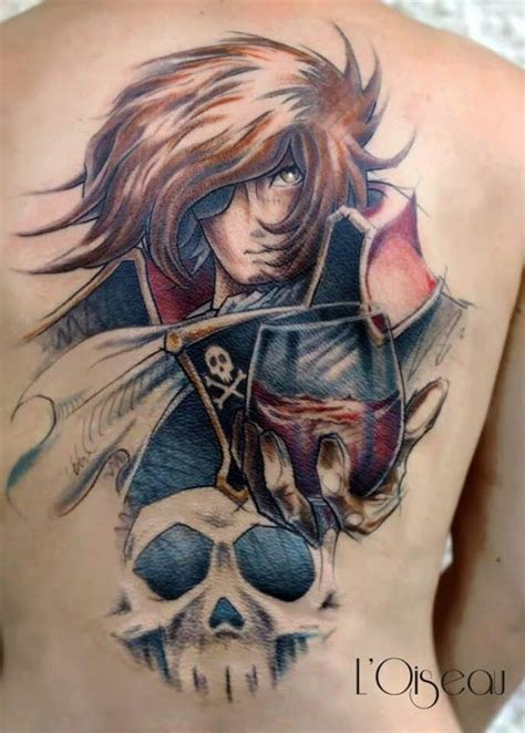 tattoo queens arcade lower hutt 1261 best harlock images on pinterest captain harlock