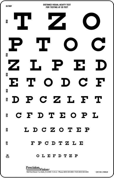 eye chart child visionary eyecare s blog quot the eye journal quot printable snellen eye chart 20 ft hairsstyles co