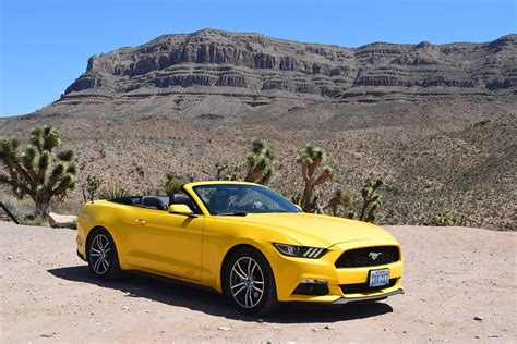 yellow car free photo yellow car car mustang desert free image