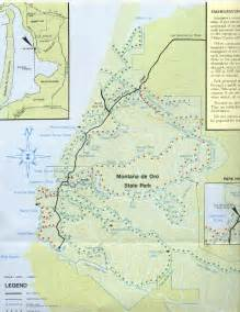 Montana De Oro Trail Map by Outdoor