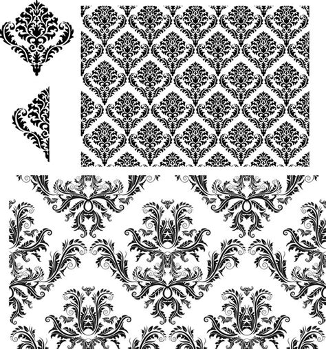 damask pattern cdr 17 best images about vector graphics on pinterest