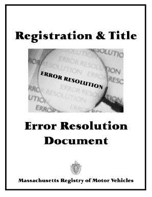 Mass Rmv Documents