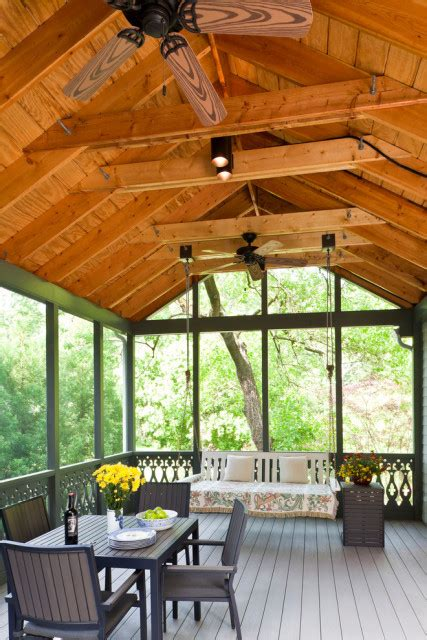 Transitional Kitchen Designs Photo Gallery Screened Porch Ideas Owings Brothers Contracting