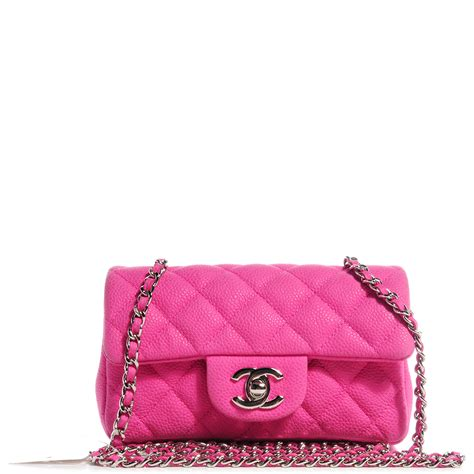 Caviar Shoo Pink chanel iridescent caviar quilted mini flap pink 63606