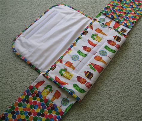 Travel Changing Mat With Wipes by Travel Change Mat With Nappy And Wipe Holder Hungry