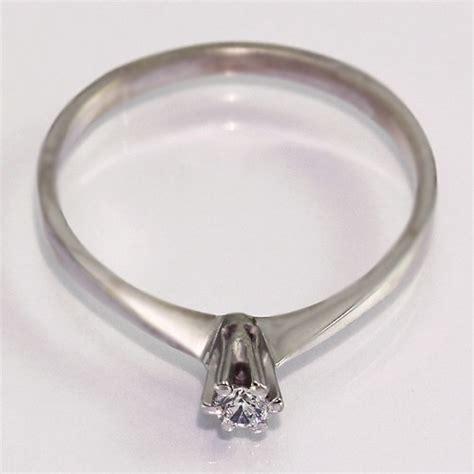 Verlobungsring Damen by Gold Verlobungsring Mit Diamant Damen Gold Ring