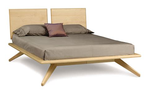 copeland bed copeland astrid bed with 2 headboard panels in maple