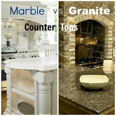 Granite Vs Marble Kitchen Countertops marble vs granite kitchen countertop