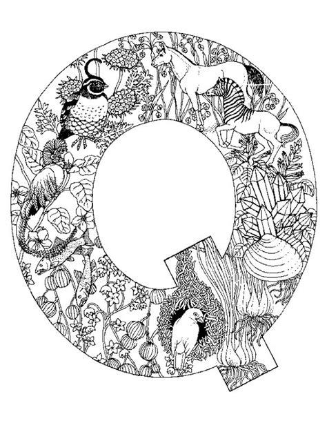 alphabet coloring pages q kleurplaten en zo 187 kleurplaten van alfabet dieren