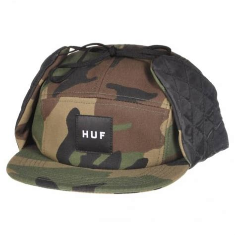 Topi Huf 5panel Huf 5panels Huf 5 Panel Huf 5 Panels Huf 2 huf huf camo ear volley 5 panel cap camo caps from skate store uk