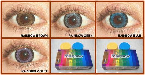 Softlens Rainbow By Omega rainbow
