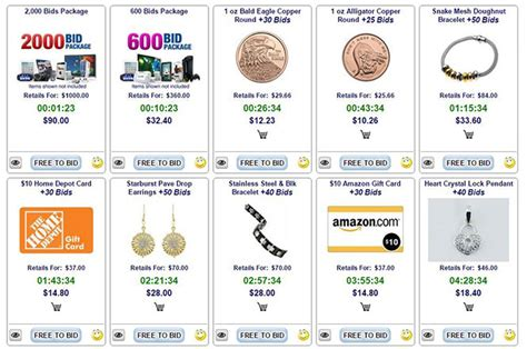 Best Penny Auction Sites For Gift Cards - a penny auction with free auctions best penny auction sites