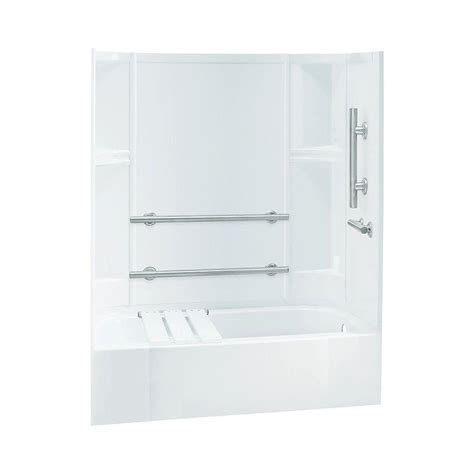 72 x 30 bathtub sterling accord 30 in x 60 in x 72 in bath and shower