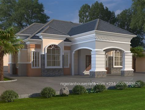 home designs bungalow plans nigerianhouseplans your one stop building project