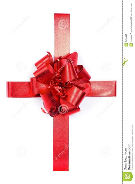 present with bow stock photography image 3456442