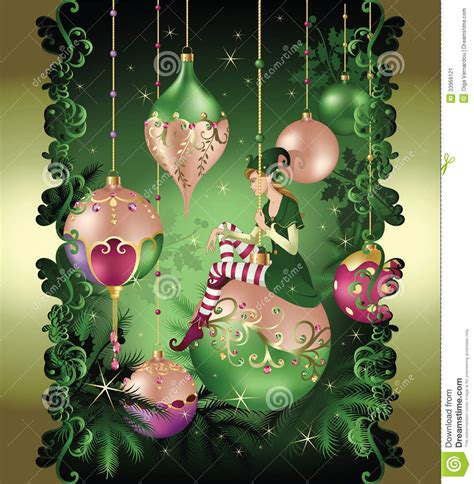 christmas elf fairy tale stock image image 33969121