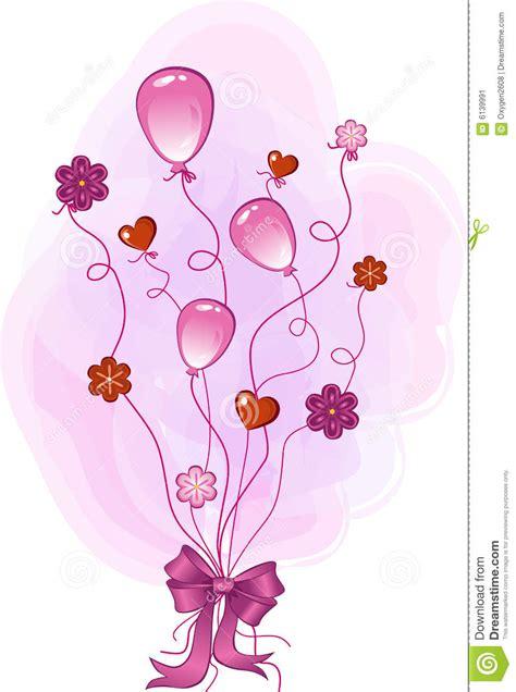 pink congratulation stock vector illustration  flower