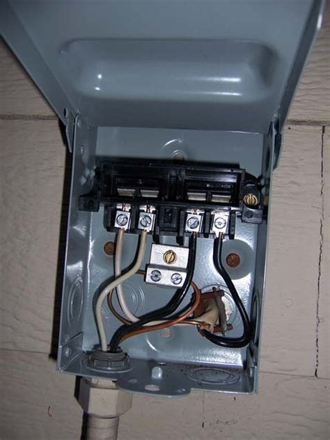 ac disconnect fuse box diagram wiring diagram networks