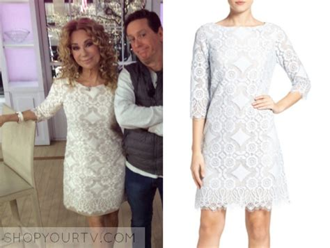 kathie lee gifford wedding dress the today show march 2017 kathie lee gifford s lace a