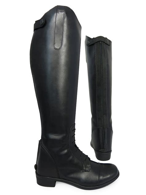 equi comfort riding boots ladies tall equestrian riding showing regular wide equi