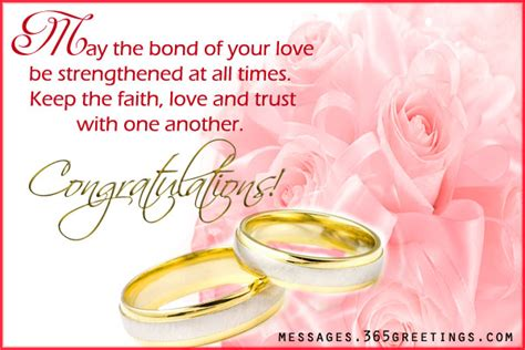 Wedding Messages Of Congratulation by Wedding Wishes And Messages 365greetings