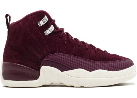 Accent Color by Jordan 12 Retro Bordeaux Gs