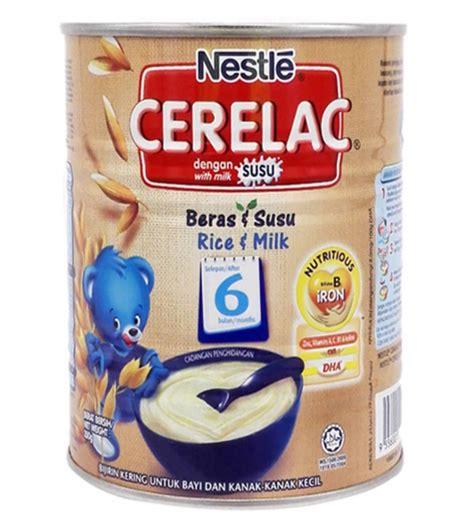 Cerelac Nestle prime nestle cerelac rice milk