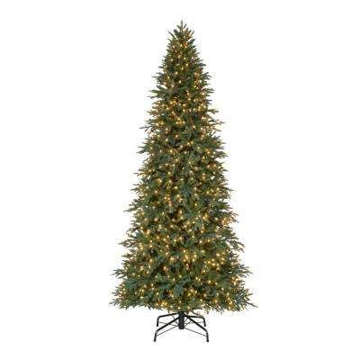 home accents holiday 75 pre lit monterey fir tree replacement lights artificial trees trees the home depot