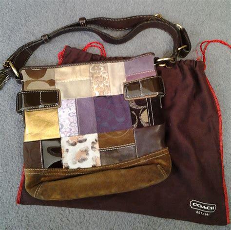 Patchwork Coach Purse - coach patchwork purse on storenvy
