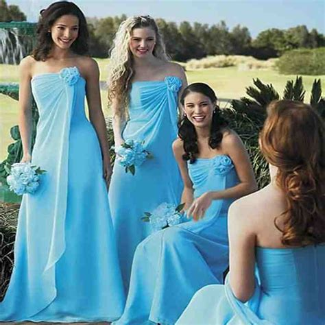 teal bridesmaid dresses beach wedding wedding and bridal