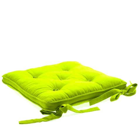 coussins de chaise coussin chaise 5 boutons anis