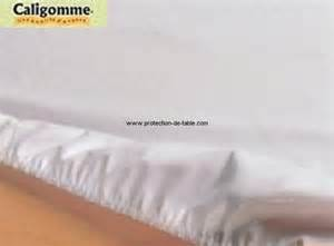 bulgomme table ovale protection de table caoutchouc