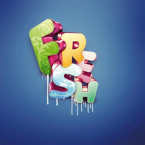 create 3d photos photoshop tutorial master 3d type effects digital arts