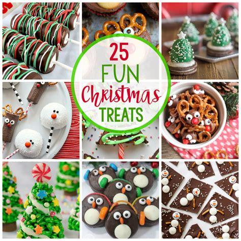 25 fun christmas treat ideas fun squared