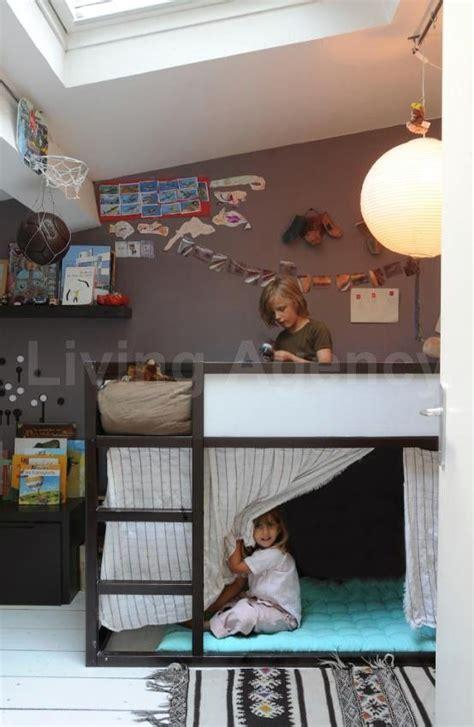 Ikea Kid Bunk Bed The Boo And The Boy Ikea Kura Bed Again Kid Decor
